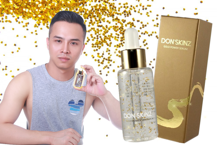 DON'SKINZ GOLD POWER SERUM