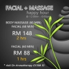 FACIAL + BODY MASSAGE @ Happy Hour